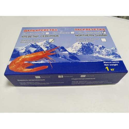 Креветки Северные варено-мороженые 70-90 1кг