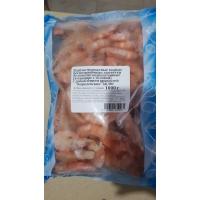 Креветки Северные варено-мороженые 60-80 с глазурью короб 1 кг