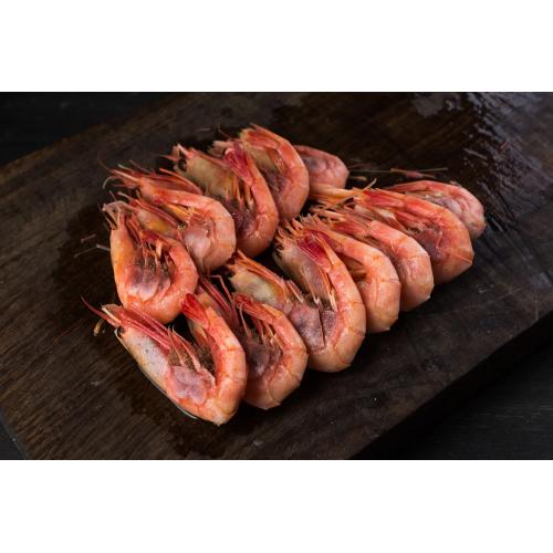Креветки Магаданские варено-мороженые 50-70 сухой зам. 5кг (коробка)