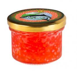 Икра лососевая красная (Горбуша), 100 гр