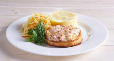 Рыбные котлеты с плавленым сыром